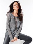Brax Feel Good - Rundhals-Pullover in Oversized-Form