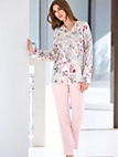 Charmor - Schlafanzug aus 100 % Baumwolle