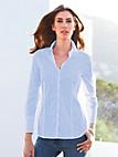 Eterna - Bluse mit 1/1-Arm und breiter Manschette