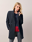 "Fadenmeister Berlin - Long-Jacke in ""O-Shape"""
