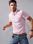 Lacoste - Ringel-Polo-Shirt mit 1/2-Arm
