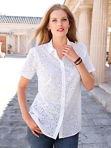 Anna Aura - Bluse mit 1/2-Arm aus 100% Baumwolle
