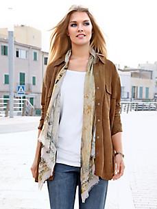 Anna Aura - Lederhemd aus Ziegenveloursleder