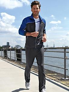 Authentic Klein - L'ensemble de jogging en coton et polyester