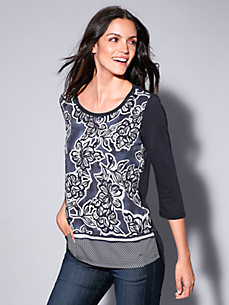 Brax Feel Good - Blusen-Shirt mit 3/4-Arm