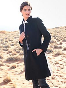 Cinzia Rocca - Le manteau 3/4 en pure laine vierge