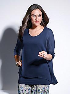 Emilia Lay - Le T-shirt, manches 3/4 et effet superposé