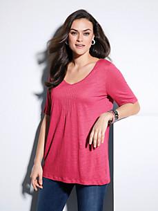 Emilia Lay - V-Shirt mit 1/2-Arm aus 100% Leinen