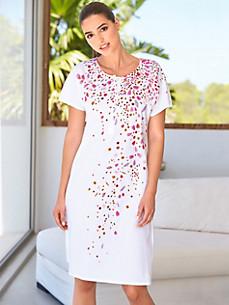 Féraud - La chemise de nuit 100% coton à manches courtes