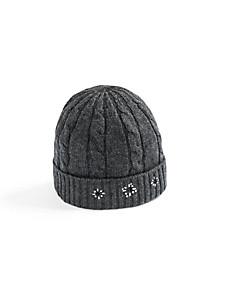 FLUFFY EARS - Le bonnet en pur cachemire