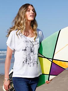FLUFFY EARS - Le T-shirt encoulre dégagée et manches courtes