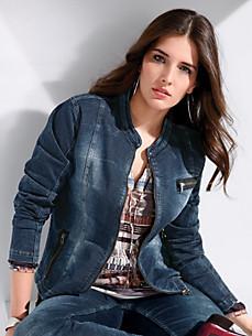 FRAPP - La veste aspect jean