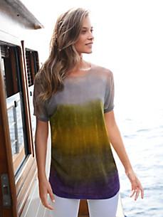 Inkadoro - Long-Pullover mit überschnittener Schulter