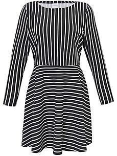 JUNAROSE - Langarm Kleid