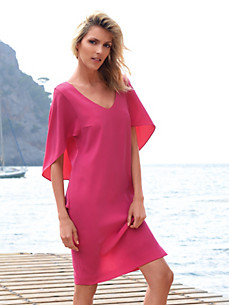 Laurèl - Kleid mit tiefem V-Ausschnitt