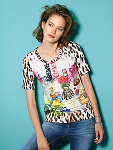 Looxent - Le T-shirt encolure dégagée et manches courtes