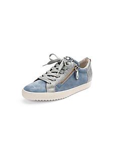 Paul Green - Les sneakers en cuir velours de chèvre