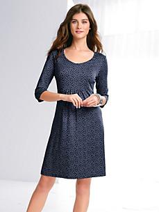 Peter Hahn - Druck-Kleid mit 3/4-Arm