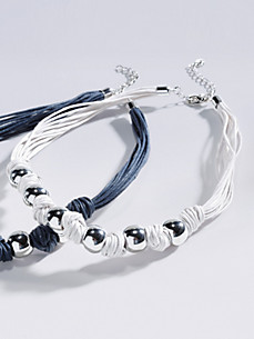 Peter Hahn - Le collier en perles de laiton brillantes