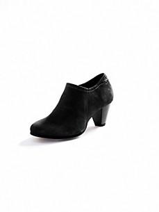 Scarpio - Ankle-Boot in samtigem Ziegenveloursleder