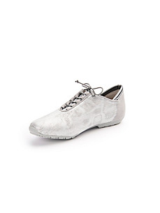 Scarpio - Les sneakers à lacets en cuir nubuck de veau