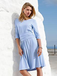 Uta Raasch - La robe en jersey drapée avec manches 3/4