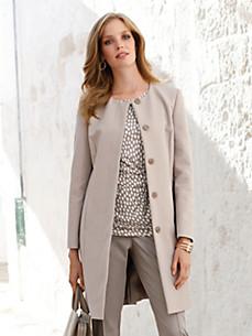 Uta Raasch - Le manteau court en tissu reps
