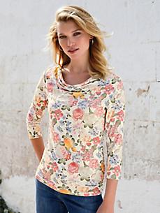 Uta Raasch - Le T-shirt col bénitier à manches 3/4