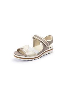 Waldläufer - Les sandales en cuir velours