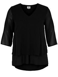 zizzi - Le T-shirt-chemisier manches 3/4
