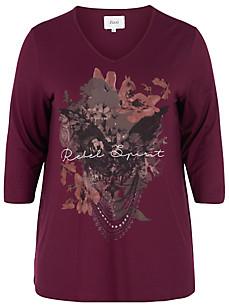 zizzi - Le T-shirt col V et manches 3/4