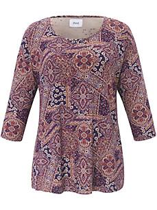 zizzi - Shirt mit trendigem Ornamente-Print