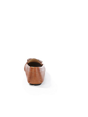 Aigner - Mokassin aus hochwertigem Saffiano-Kalbsleder