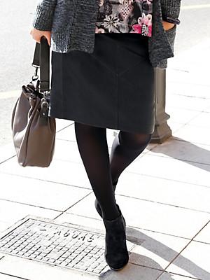Anna Aura - Lederrock aus handschuhweichem Lammnappaleder