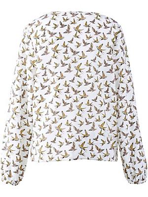 Anna Aura - Shirt-Bluse mit Rundhals-Ausschnitt