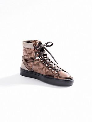 Bogner - Knöchelhoher Sneaker aus Kalbsnappaleder
