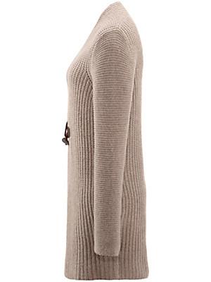 Daddy´s Daughters - Long-Strickjacke aus reinem Kaschmir