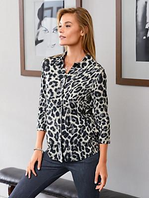 Efixelle - Jersey-Bluse mit 3/4-Arm