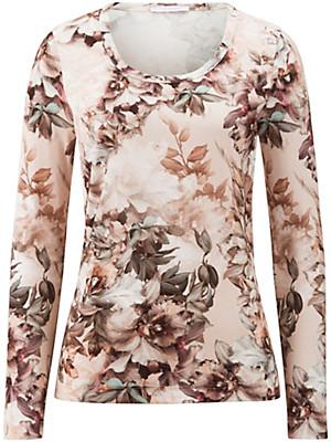 Efixelle - Rundhals-Shirt mit 1/1-Arm