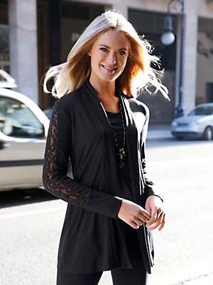 Emilia Lay - Shirt-Jacke mit Schalkragen