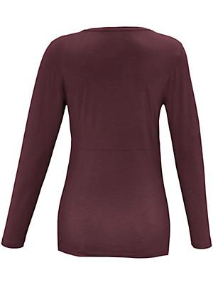 Emilia Lay - Shirt mit tiefem V-Ausschnitt