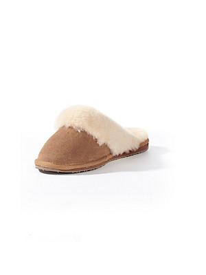 Emu - Pantoffel aus Rindsveloursleder
