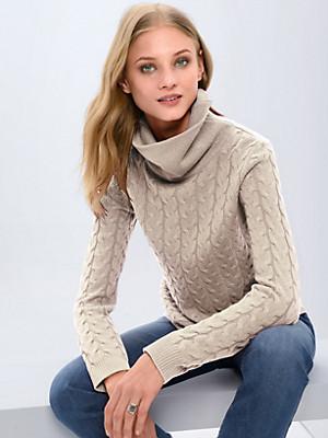 Fadenmeister Berlin - Rollkragen-Pullover aus 100% Kaschmir