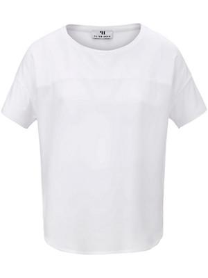 FLUFFY EARS - Rundhals-Shirt in 100% Seide