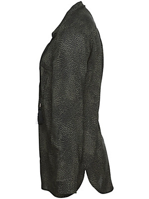 FRAPP - Lang geschnittene Bluse