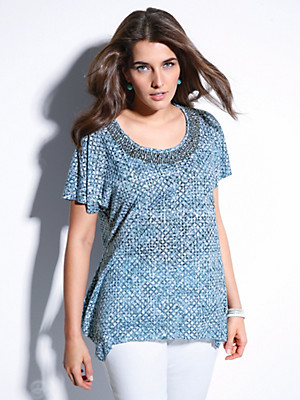 FRAPP - Rundhals-Shirt
