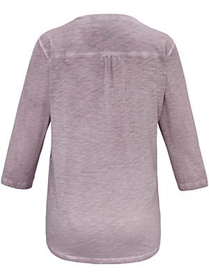 FRAPP - V-Shirt mit 3/4-Ärmel