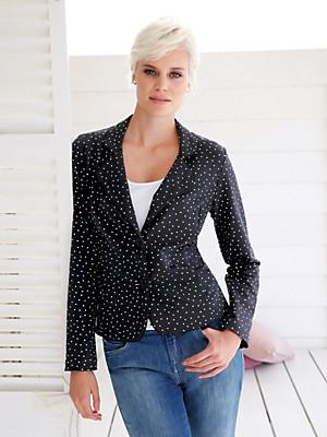 Green Cotton - Jersey-Blazer aus 100% Baumwolle