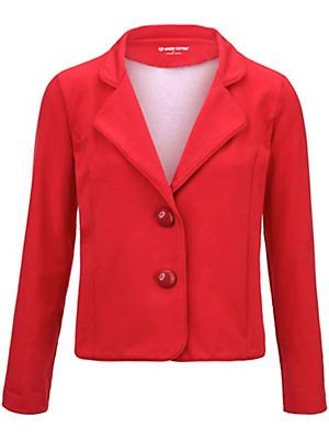 Green Cotton - Jersey-Blazer