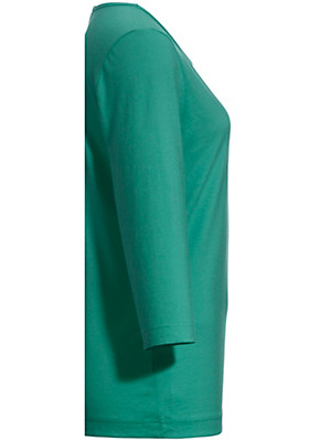 Green Cotton - Rundhals-Shirt im Doppelpack